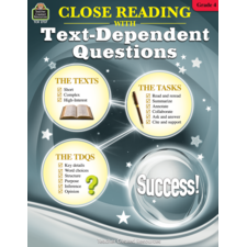 Close Reading Using Text-Dependent Questions Grade 4