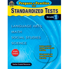 Prepare & Practice for Standardized Tests Grade 1