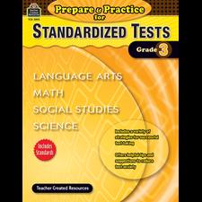 Prepare & Practice for Standardized Tests Grade 3