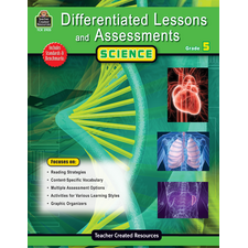 Differentiated Lessons & Assessments: Science Grade 5