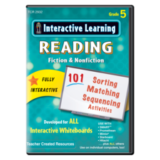 Interactive Learning: Reading Fiction & Nonfiction Grade 5