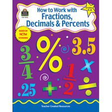 How to Work with Fractions, Decimals & Percents, Grades 4-6