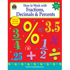 How to Work with Fractions, Decimals & Percents, Grades 5-8