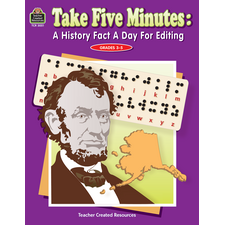 Take Five Minutes: A History Fact a Day for Editing