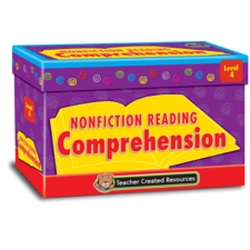 Nonfiction Reading Comprehension Cards Level 4