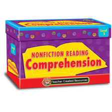 Nonfiction Reading Comprehension Cards Level 5