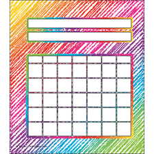 Colorful Scribble Incentive Charts Pack