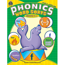 Full-Color Phonics Word Sorts