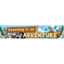 Ranger Rick Learning Is An Adventure Banner
