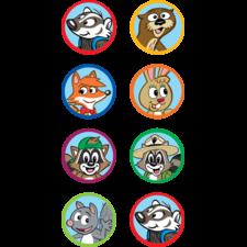 Ranger Rick Mini Stickers