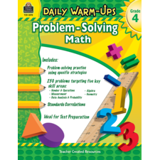 Daily Warm-Ups: Problem Solving Math Grade 4