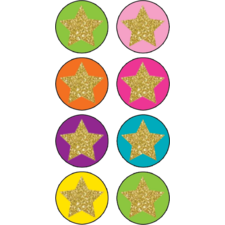 Confetti Stars Mini Stickers
