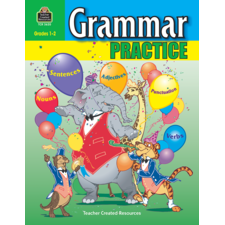Grammar Practice for Grades 1-2