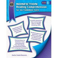 Nonfiction Reading Comprehension for the Common Core Grade 1