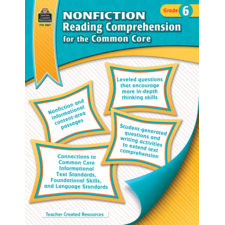 Nonfiction Reading Comprehension for the Common Core Grade 6