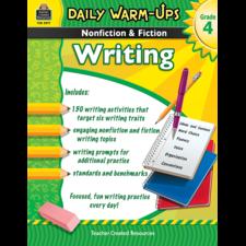 Daily Warm-Ups: Nonfiction & Fiction Writing Grade 4