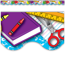 School Tools Border Trim