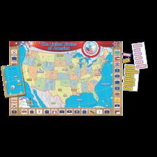 US Map (Repositionable) Bulletin Board Display Set
