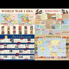 The World Wars Bulletin Board Display Set