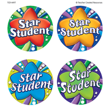 Star Student Wear'Em Badges