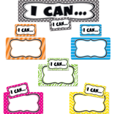 I Can...Mini Bulletin Board Set