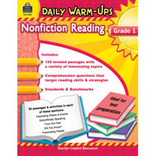 Daily Warm-Ups: Nonfiction Reading Grade 1