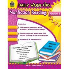 Daily Warm-Ups: Nonfiction Reading Grade 5