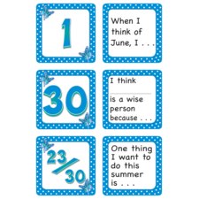 June Polka Dots Calendar Days/Story Starters
