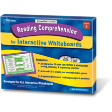 Reading Comprehension for Interactive Whiteboards Grade 3