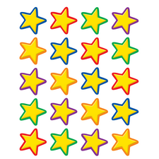 Yellow Stars Stickers