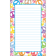 Peace Signs Notepad