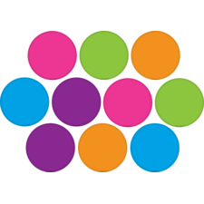 Bright Colors Circles Accents