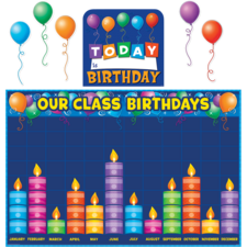 Birthday Graph Bulletin Board Display Set