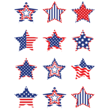 Patriotic Stars Mini Accents