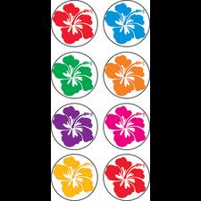 Hibiscus Mini Stickers