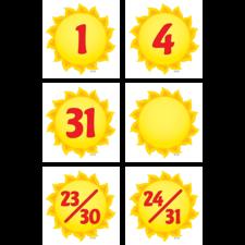 Happy Suns Calendar Days