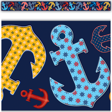 Anchors Straight Border Trim