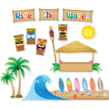 Surfs Up Board Bulletin Display Set