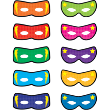 Superhero Masks Accents