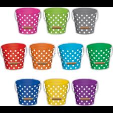 Polka Dots Buckets Accents