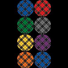 Plaid Mini Stickers