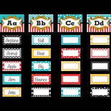 Carnival Alphabet Word Wall Bulletin Board Display Set