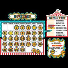Carnival Calendar Bulletin Board Display Set