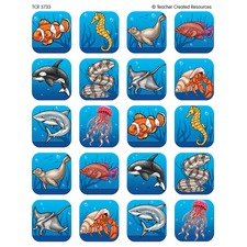 Ocean Life Stickers