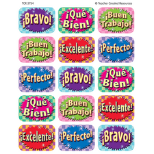 Good Work (Spanish) Jumbo Stickers