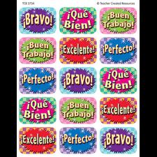 Good Work (Spanish) Jumbo Stickers
