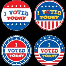I Voted Today Wear 'Em Badges
