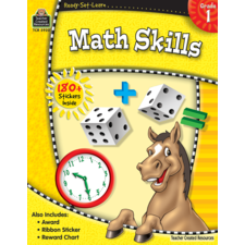Ready-Set-Learn: Math Skills Grade 1