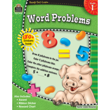 Ready-Set-Learn: Word Problems Grade 1