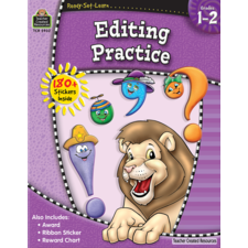 Ready-Set-Learn: Editing Practice Grade 1-2
